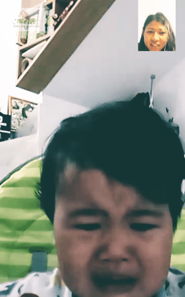 Bad timing: video call pas anak baru mau makan