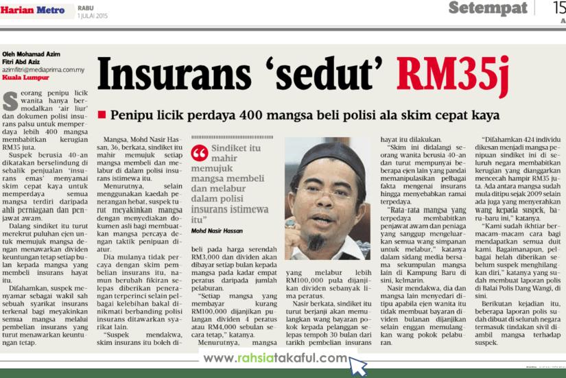 insurans skim cepat kaya