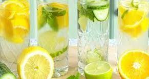 فوائد الماء و الليمون