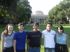 LabX in front of MIT dome