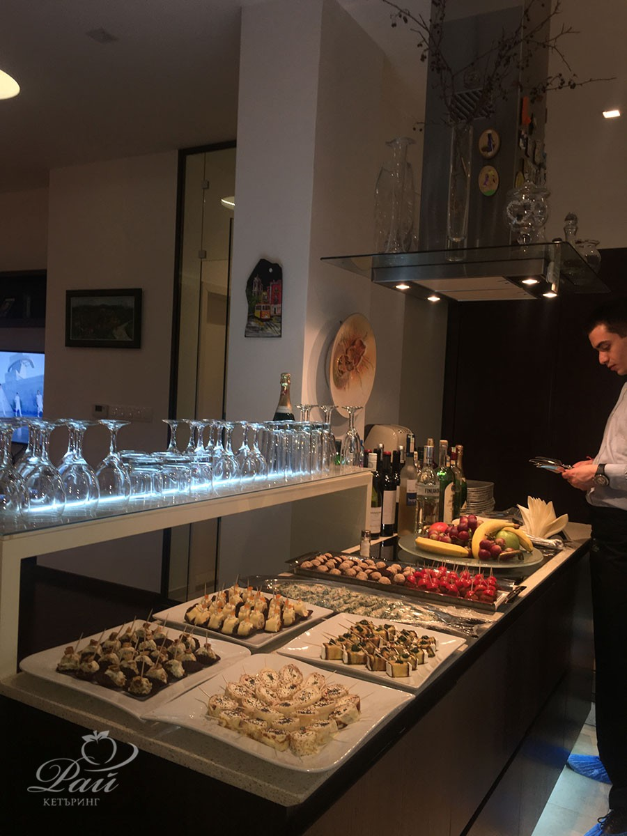 Birthday Party In Private Home Rai Catering