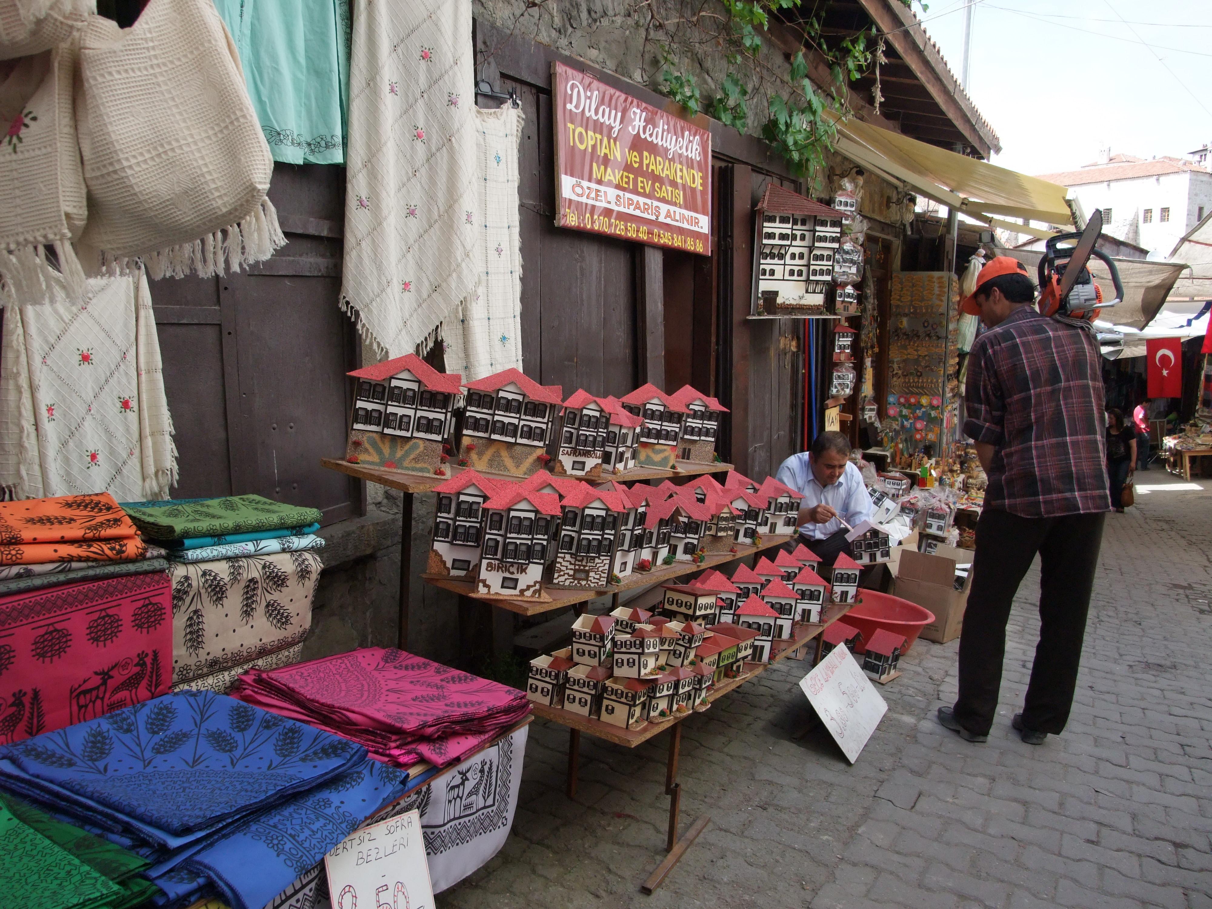 Andenkenladen in der Altstadt