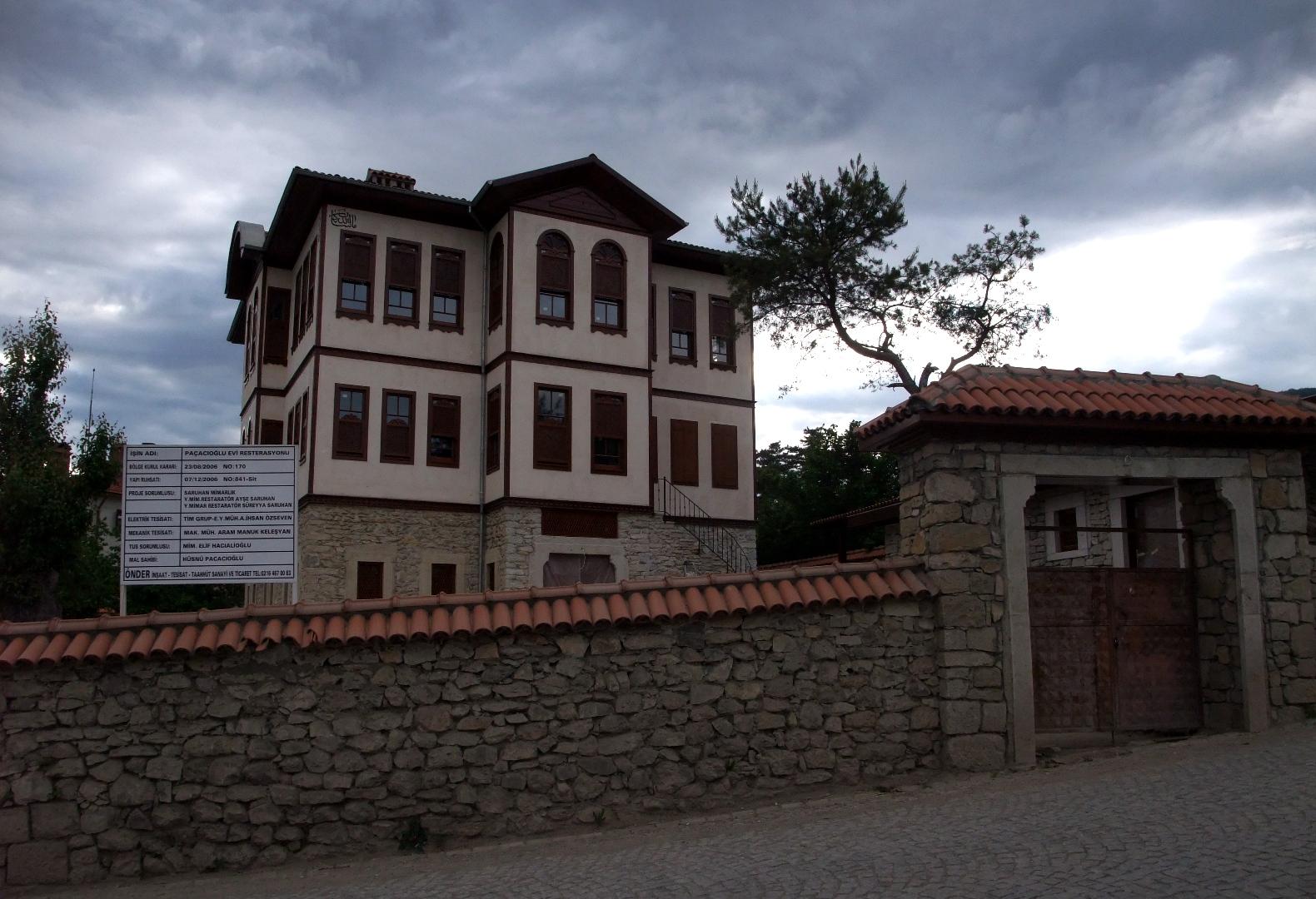 Ein frisch renoviertes altes Haus in Safranbolu