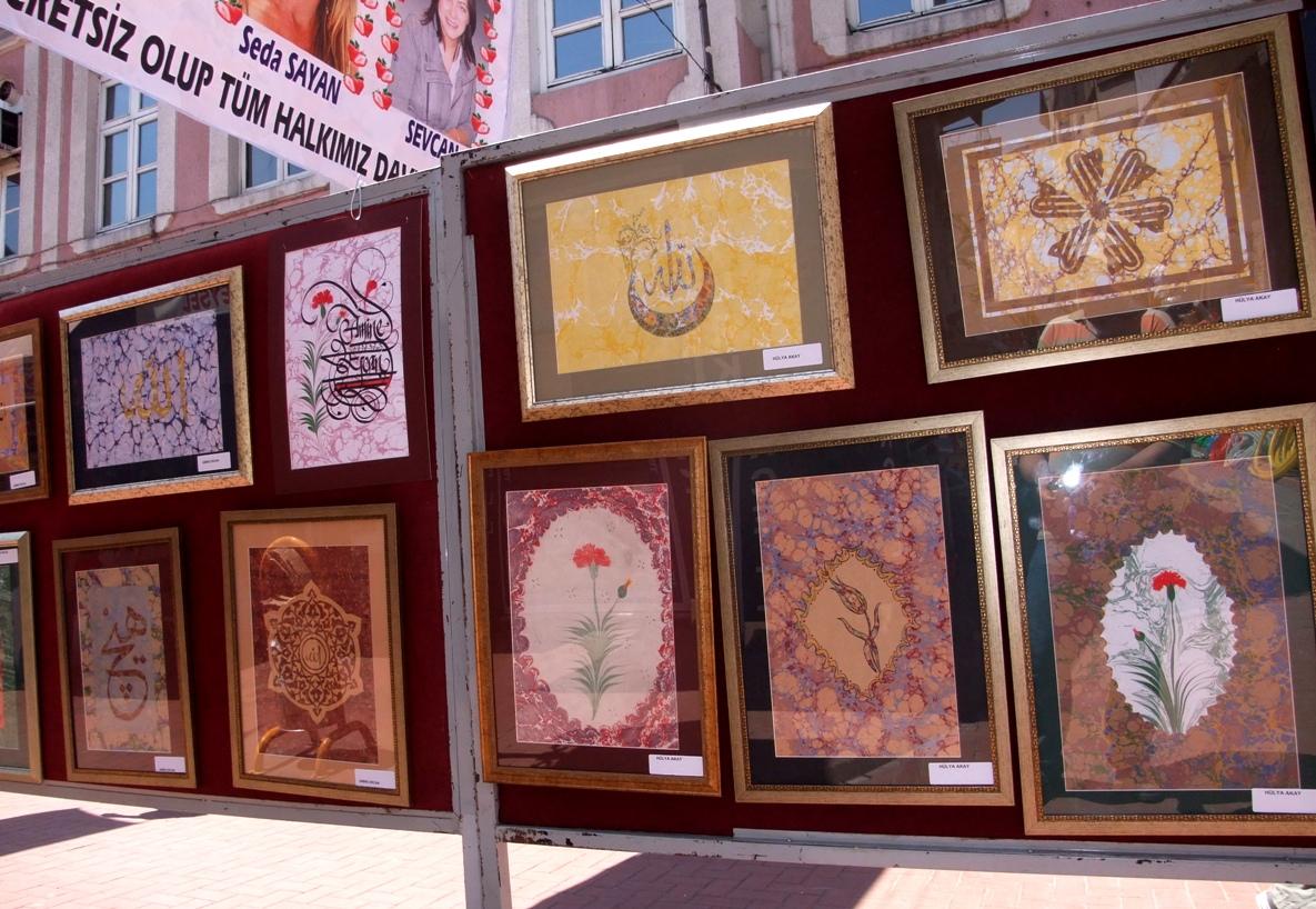Kunstausstellung in Bartın