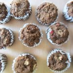 Apple Buckwheat Muffins