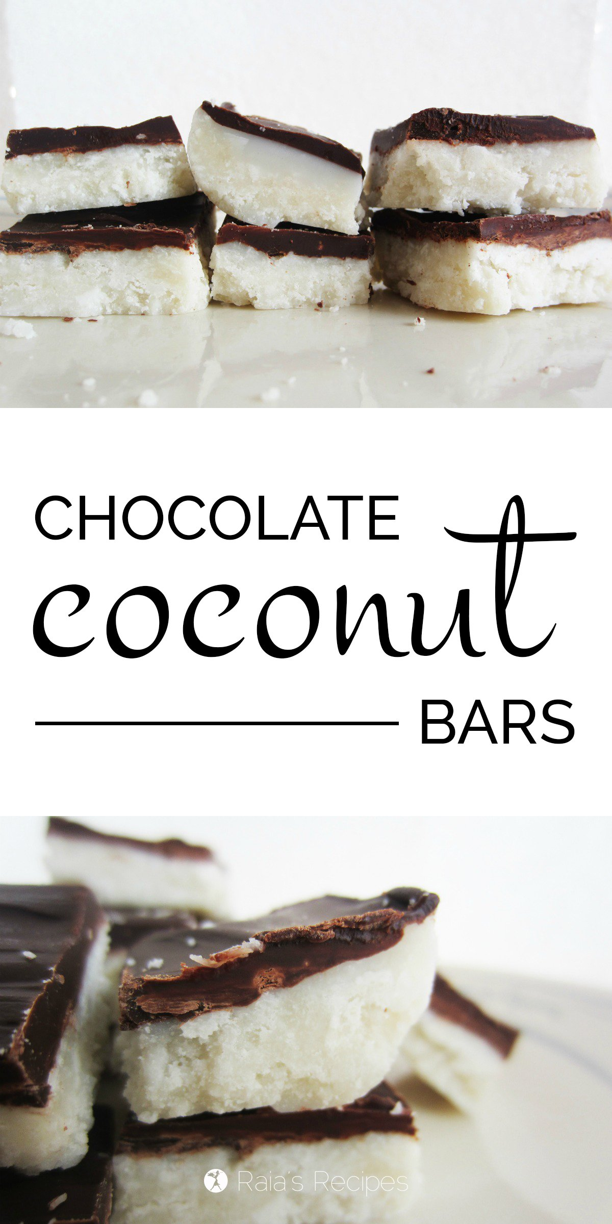 Chocolate Coconut Bars | grain-free, gluten-free, dairy-free, egg-free ...