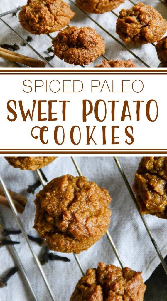 Spiced Paleo Sweet Potato Cookies