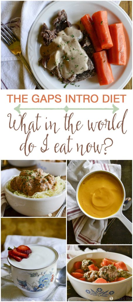 On the GAPS Intro Diet? Wondering what in the world you're going to eat now? I've got you covered, friend.