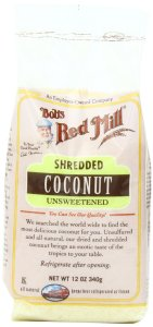 Bob's Red Mill - Shredded unsweetened Coconut