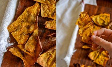 Crispy Sweet Potato Skins