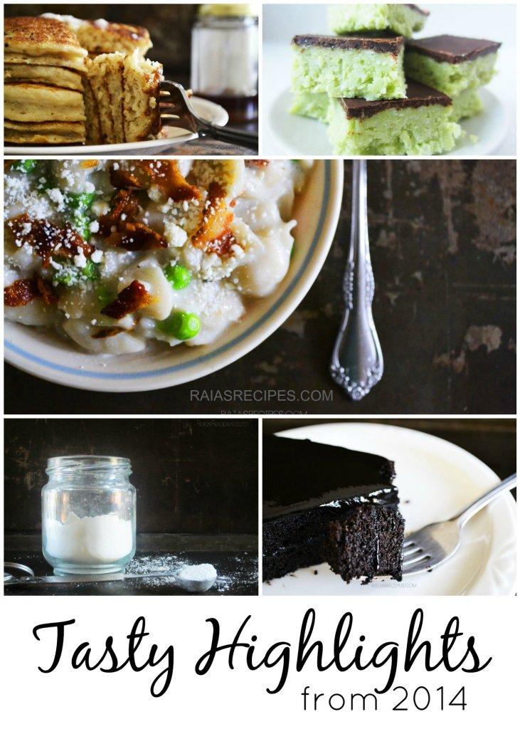 Tasty Highlights from 2014   RaiasRecipes.com