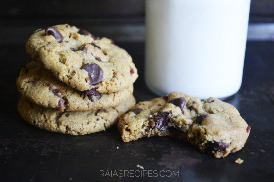 Bacon Cookies | gluten-free, corn-free | RaiasRecipes.com