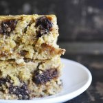 Banana Nut Butter Blondies