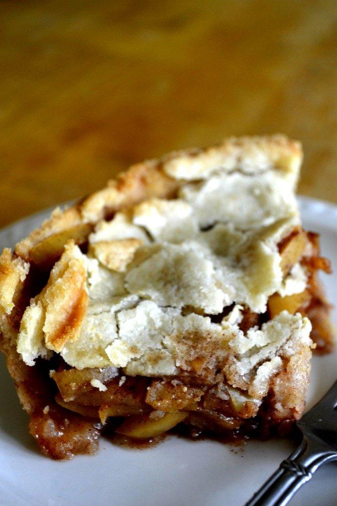 Deep Dish Gluten-Free Apple Pie Long
