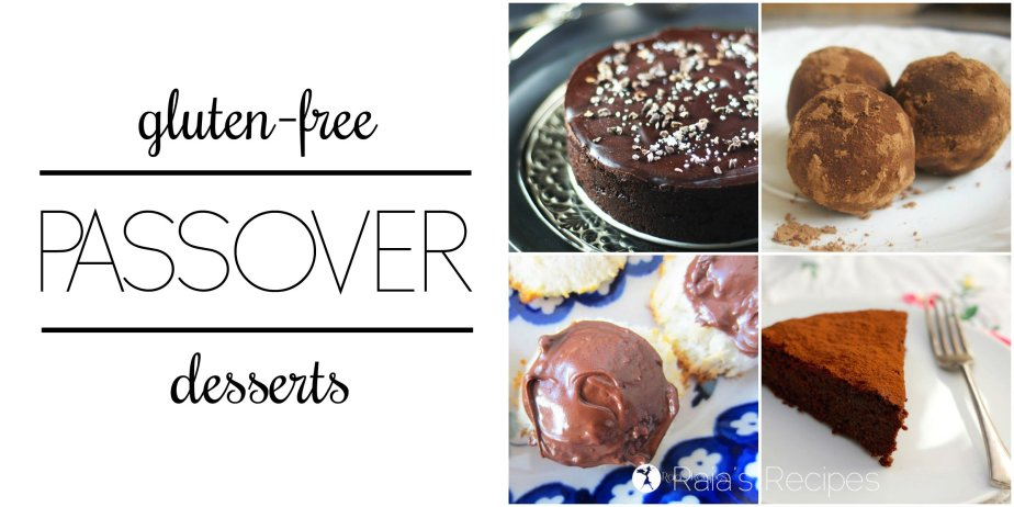 GF Passover Desserts | RaiasRecipes.com