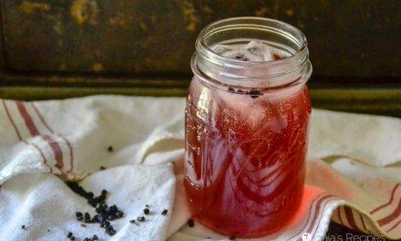 Probiotic Elderberry Water Kefir