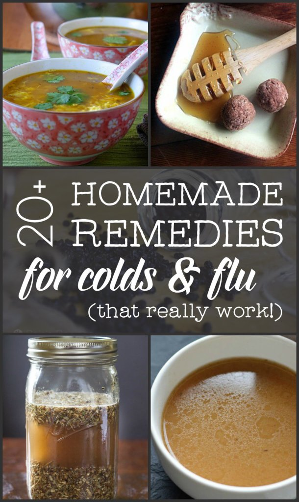 Struggling to stay healthy? Kick that infection to the curb with 20+ Homemade Remedies for Colds & Flu (that really work!).
