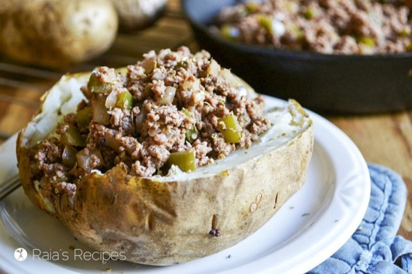 Baked Potato Sloppy Joes