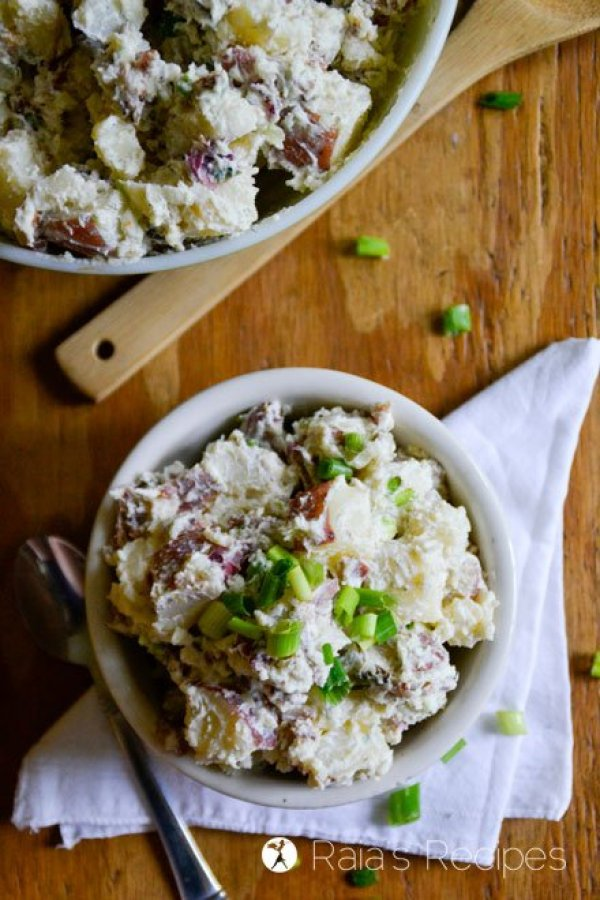 Creamy Potato Salad profile top