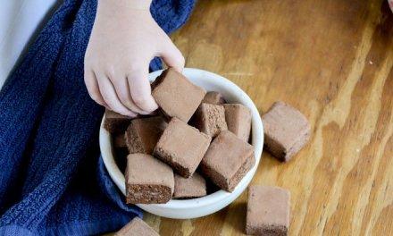 Healthy Dark Chocolate Marshmallows