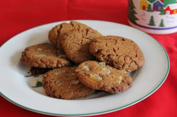 Paleo Vegan Gingersnap Cookies from Gluten Free Travels at Allergy Free Thursdays weekly gluten-free linky party. | RaiasRecipes.com