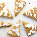 Paleo, Vegan Maple Gingerbread Scones at Allergy Free Thursdays