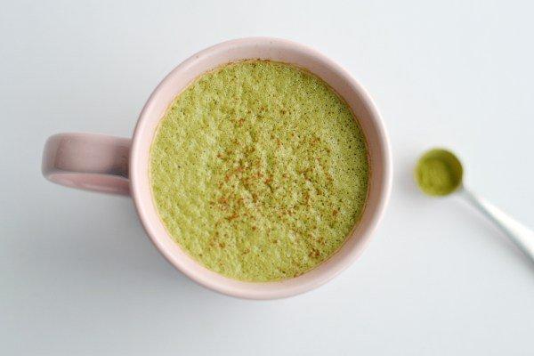 Creamy Matcha Tea Latte from Lichen Paleo, Lovin AIP