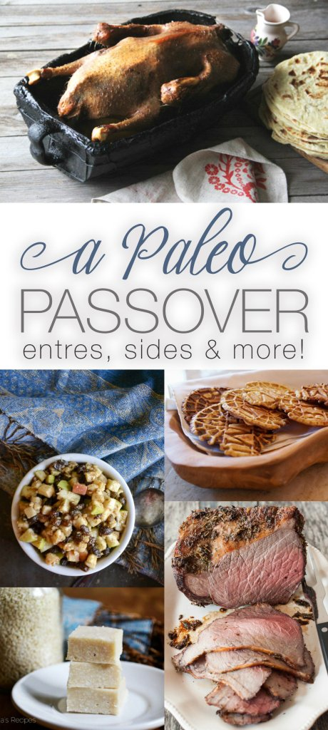 Celebrating Passover can be hard if you're living a paleo lifestyle. But no longer! Here are over 50 dishes for a delicious Paleo Passover! | RaiasRecipes.com
