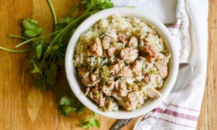 Easy Chicken Biryani in the Instant Pot