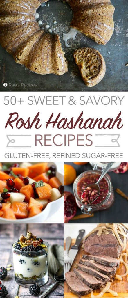 Over 50 gluten-free and refined sugar-free recipes - everything you'll ever need for a delightful and delicious Rosh Hashanah celebration.