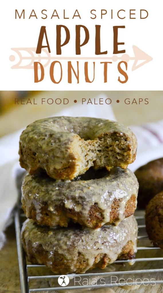 Masala Spiced Apple Donuts