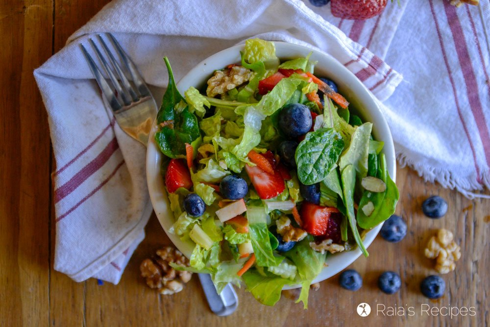 paleo Copy-Cat Chick-fil-A Market Fresh Salad 2