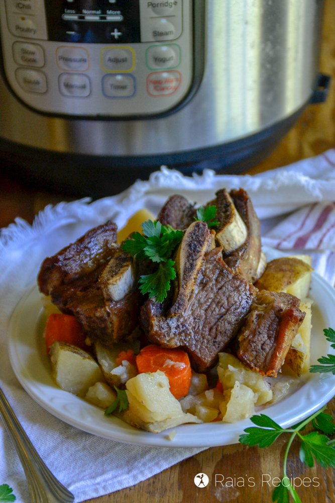 short ribs in the instant pot profile