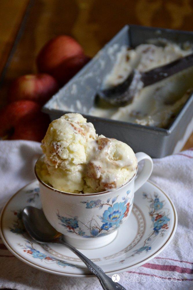 Probiotic Apple Pie Ice Cream 8