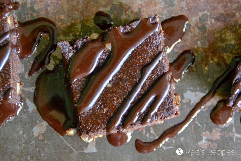 No-Bake Banana Walnut Brownies 3