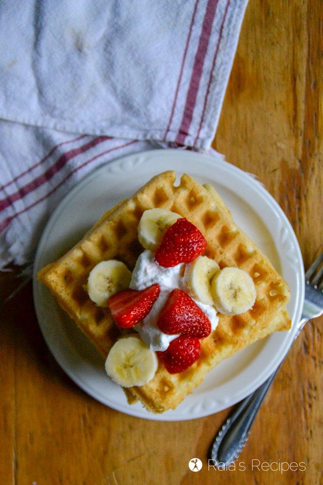 Sourdough Almond Flour Waffles 1