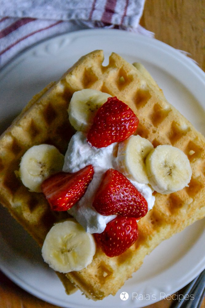 Sourdough Almond Flour Waffles 9