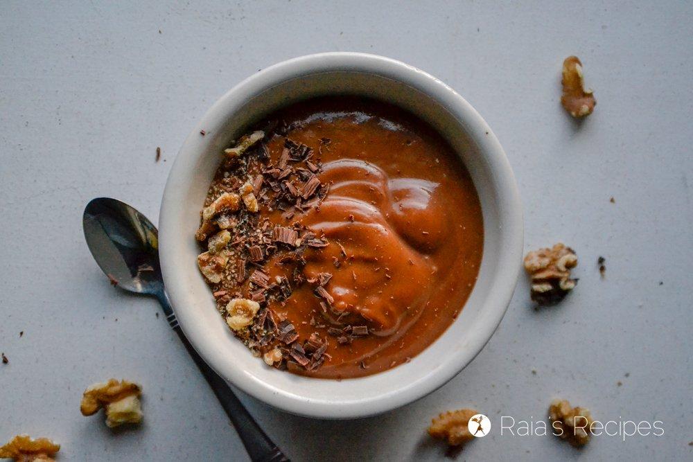 Chocolate Sweet Potato Smoothie Bowl 1