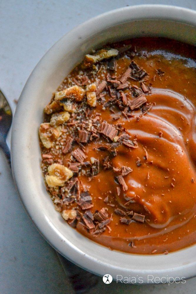 Chocolate Sweet Potato Smoothie Bowl 2