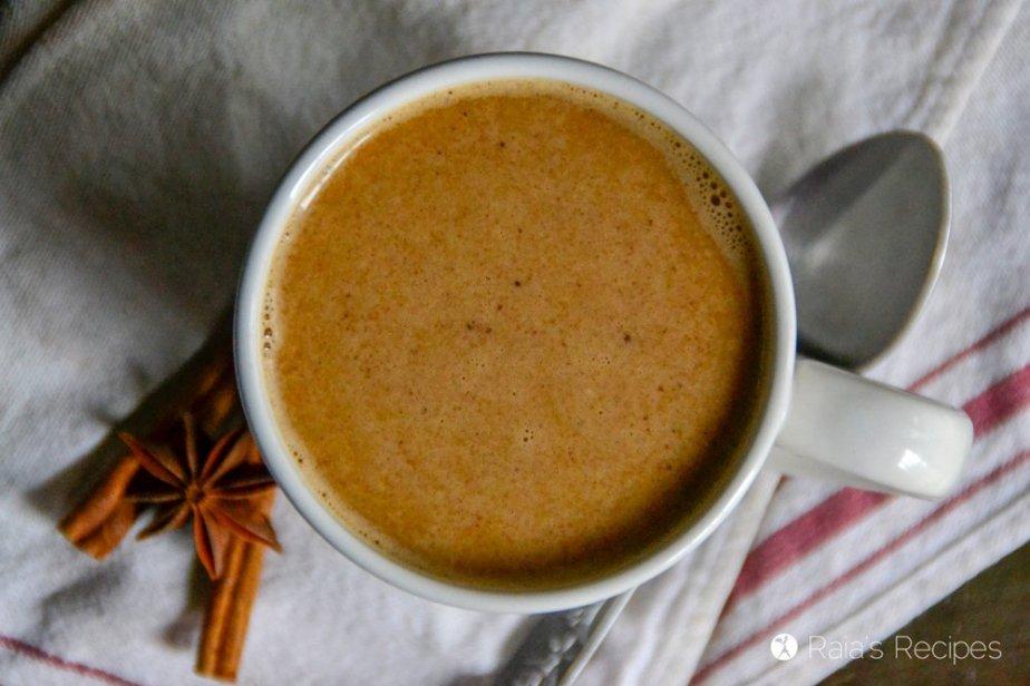 Pumpkin Chai Latte 5