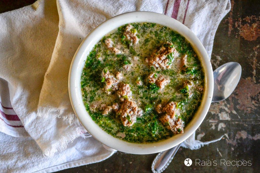 Instant Pot Beef & Kale Soup Recipe