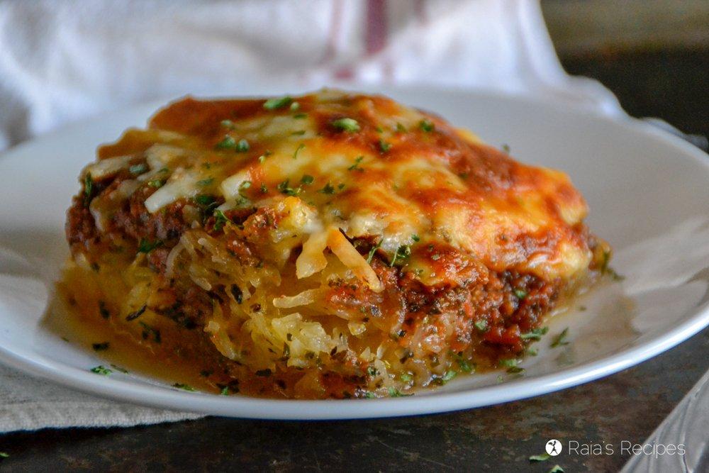 Spaghetti Squash Pizza Casserole 6