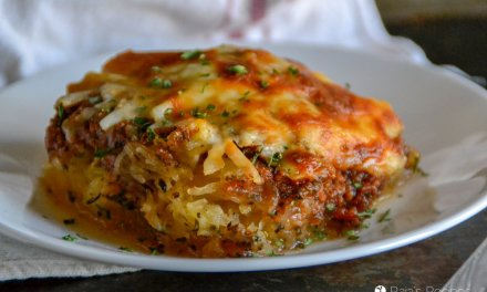 Spaghetti Squash Pizza Casserole