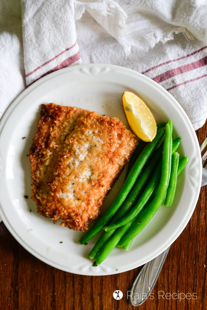 Crispy Coconut Pan-Fried Salmon 1