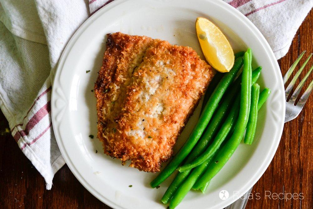 Crispy Coconut Pan-Fried Salmon 3