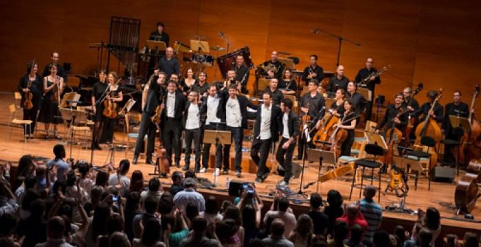 En el concierto de Lérida, Foto: Diego Conti