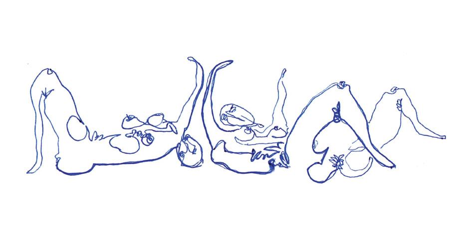 Dibujo de Alberto Saavedra Varas