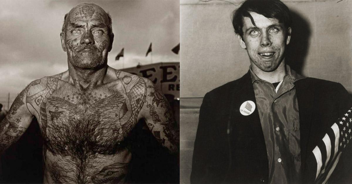 Hombre tatuado, 1970.