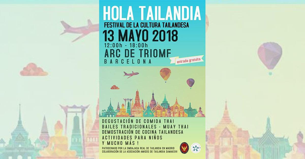 Hola Tailandia 2018 - Festival tailandés en Barcelona
