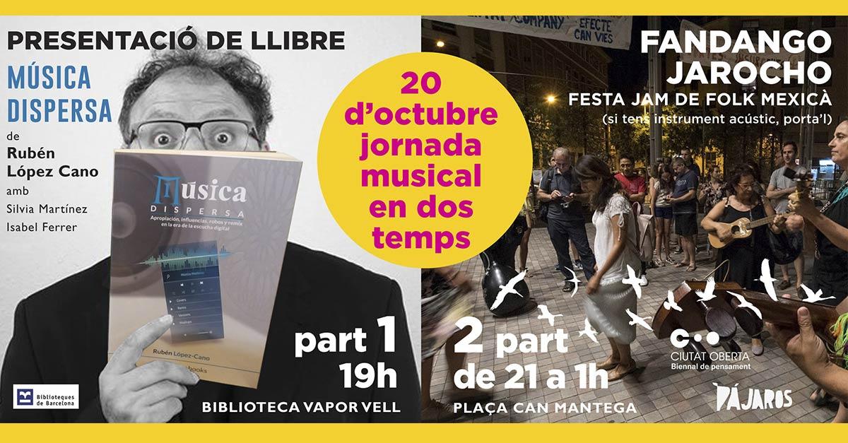 Presentación de libro + Fandango Jarocho